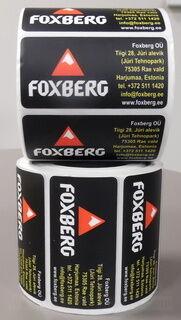 Etiketikleebised Foxberg