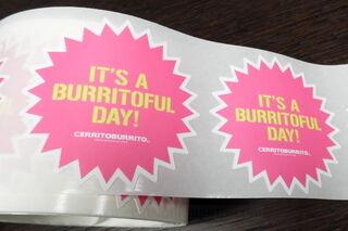 Tootekleebised Cerrit burrito
