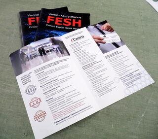 Brozüür Viennin Kauppahuone Fesh