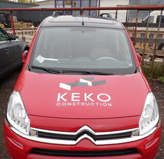 Autokleebised Keko Construction