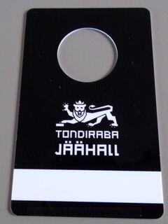 Plastikust garderoobinumbrid Tondiraba Jäähall