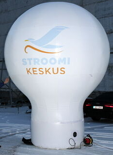 4 m kõrgune pall Stroomi Keskus