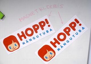 Magnetkleebised Hopp Mängutuba