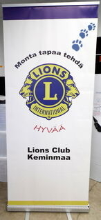Klassinen Roll-Up Lions Club Keminmaa