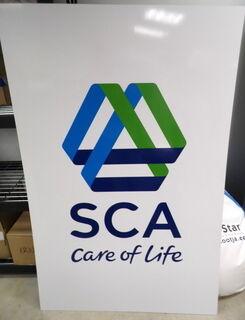 PVC kyltti tarralla SCA