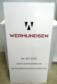 PVC kyltti tarralla Wermundsen