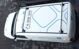 Sõiduki katusekleebised - Rõduklaasid