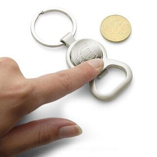 Key holder, €1 trolley disc