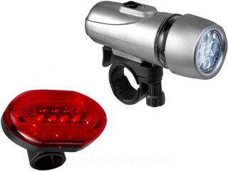 setti of two bicycle lights