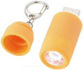 Avior laetav USB taskulamp võtmehoidja 5. pilt
