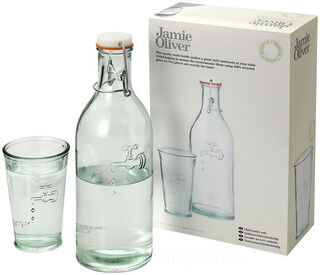 Water carafe with glass