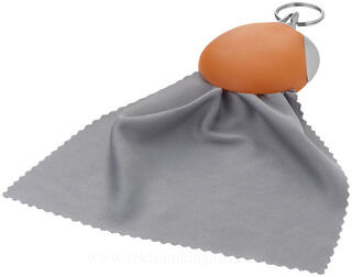Cleaning cloth key chain
