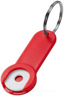 Shoppy coin hoidja key chain 2. pilt
