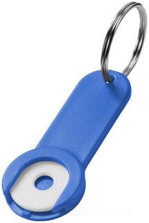 Shoppy coin hoidja key chain