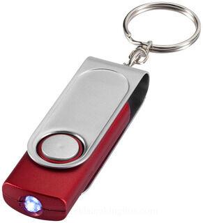 Swivel taskulamp võtmehoidja & stylus 2. pilt