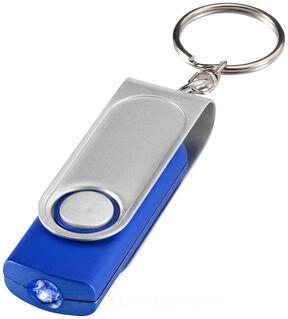 Swivel taskulamp võtmehoidja & stylus