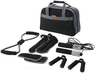 9 piece fitness kit