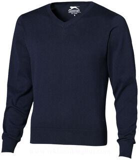 V-neck Pullover, Grey, 3XL