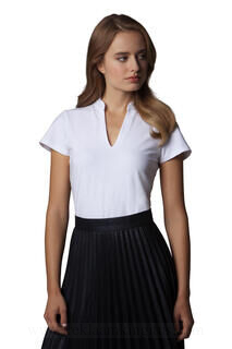 Corporate Short Sleeve V-Neck Top