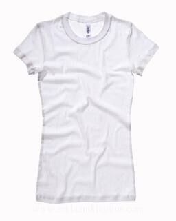 Sheer Mini Rib T-Shirt