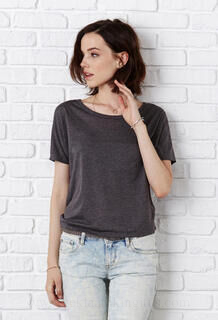 Flowy Open Back T-Shirt