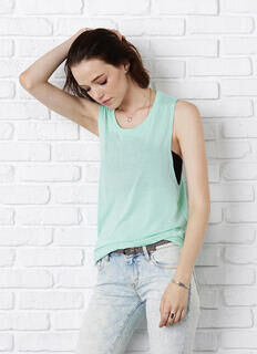 Flowy Scoop Muscle Tank Top