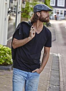 Mens Fashion V-Neck Sof-Tee