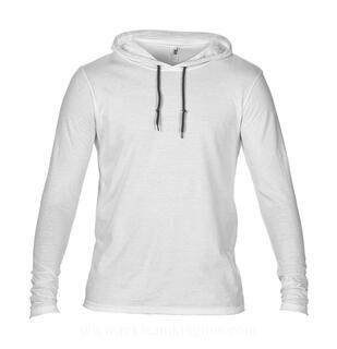 Adult Fashion Basic LS Hooded Tee 15. pilt