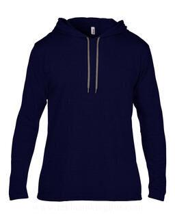 Adult Fashion Basic LS Hooded Tee 7. pilt