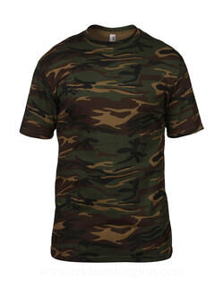 Adult Heavyweight Camouflage Tee 9. pilt