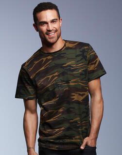 Adult Heavyweight Camouflage Tee 6. pilt