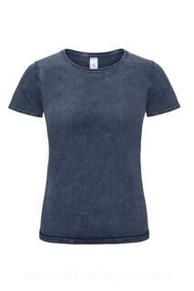 Ladies` Denim Effect T-Shirt