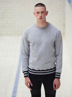 Men`s Striped Superstar Sweatshirt