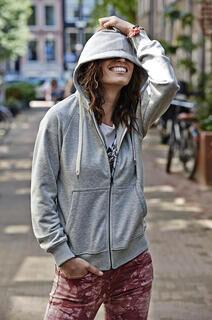 Ladies Urban Zip Hoodie