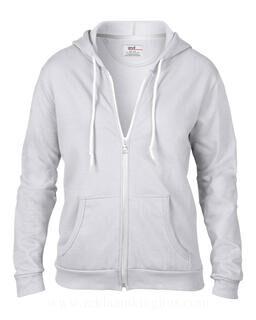 Women`s Fashion Full-Zip Hooded Sweat