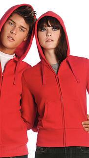 Women Hooded Full Zip