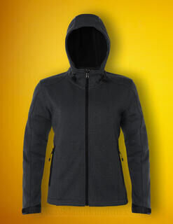Ladies Knitted Bonded Softshell 2. pilt