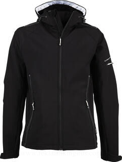 Hooded Fashion Softshell Jacket 2. pilt
