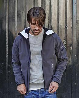Hooded Fashion Softshell Jacket 4. pilt