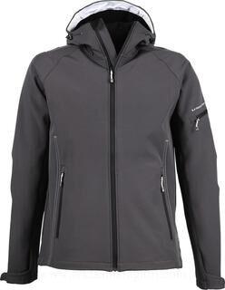 Hooded Fashion Softshell Jacket 3. pilt