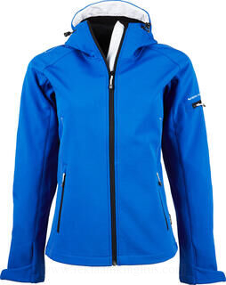 Ladies Hooded Fashion Softshell Jacket 4. pilt