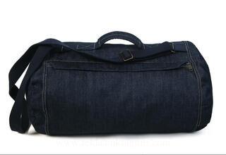 Top Denim Duffle Bag