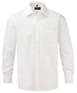 Cotton Poplin Shirt LS