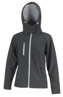 Ladies TX Performance Hooded Softshell Jacket