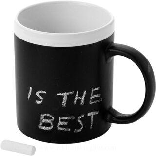 Chalky ceramic mug
