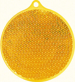 Helkur ümmargune 55x61mm oranž