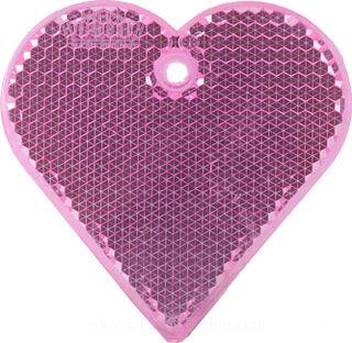 Helkur süda 57x57mm roosa